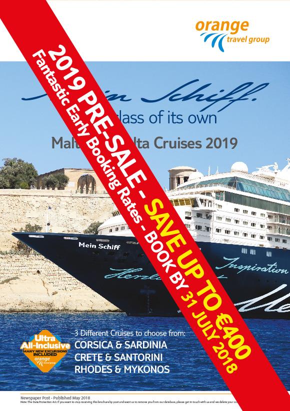 Travel Agents Malta Cruises