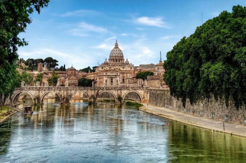 inside; rome; vatican; italy;
