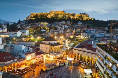 inside; athens; greece; europe;
